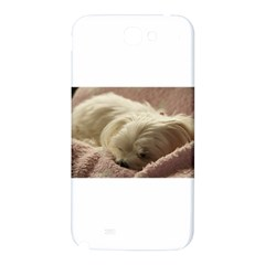 Maltese Sleeping Samsung Note 2 N7100 Hardshell Back Case