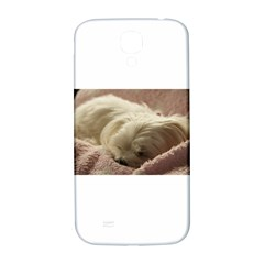 Maltese Sleeping Samsung Galaxy S4 I9500/I9505  Hardshell Back Case