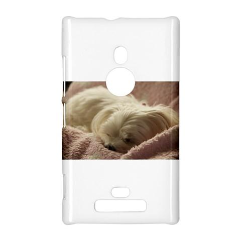 Maltese Sleeping Nokia Lumia 925