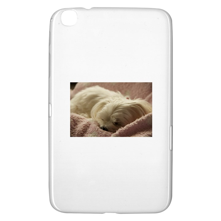 Maltese Sleeping Samsung Galaxy Tab 3 (8 ) T3100 Hardshell Case
