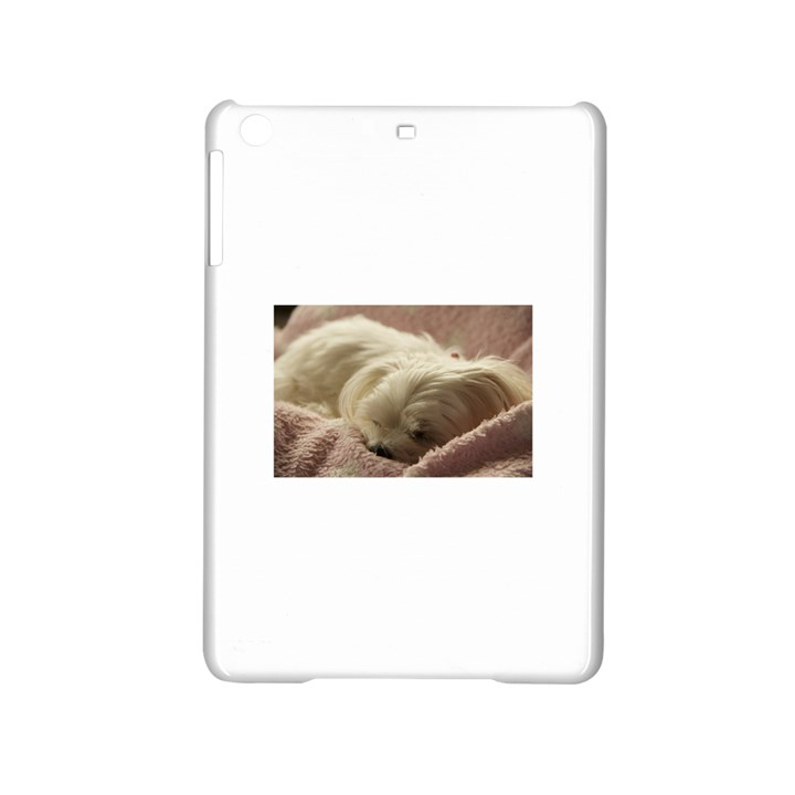 Maltese Sleeping iPad Mini 2 Hardshell Cases