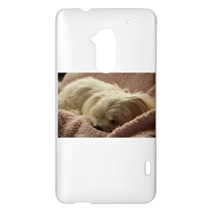 Maltese Sleeping HTC One Max (T6) Hardshell Case