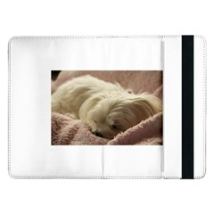 Maltese Sleeping Samsung Galaxy Tab Pro 12.2  Flip Case