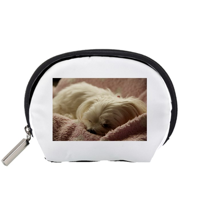 Maltese Sleeping Accessory Pouches (Small)