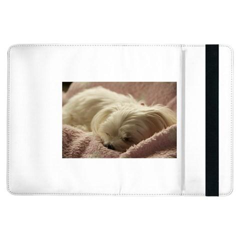 Maltese Sleeping iPad Air Flip