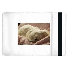 Maltese Sleeping iPad Air Flip