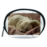 Maltese Sleeping Accessory Pouches (Medium)  Front