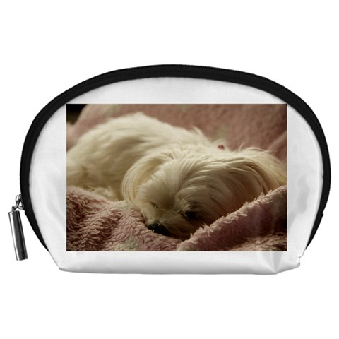 Maltese Sleeping Accessory Pouches (Large)