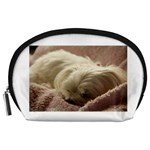 Maltese Sleeping Accessory Pouches (Large)  Front