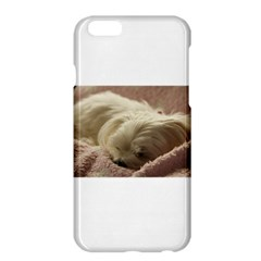 Maltese Sleeping Apple iPhone 6 Plus/6S Plus Hardshell Case