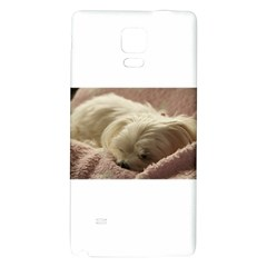 Maltese Sleeping Galaxy Note 4 Back Case