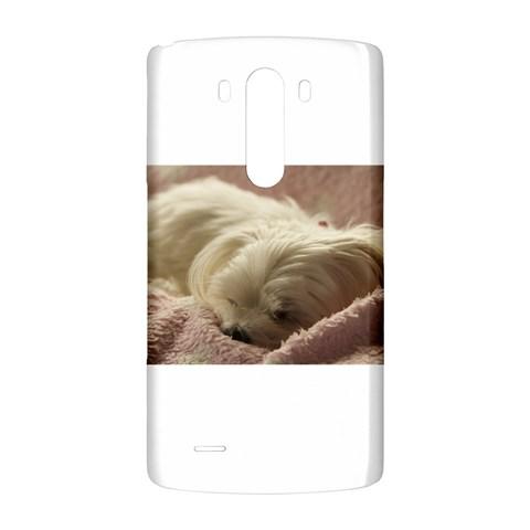 Maltese Sleeping LG G3 Back Case