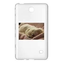 Maltese Sleeping Samsung Galaxy Tab 4 (7 ) Hardshell Case