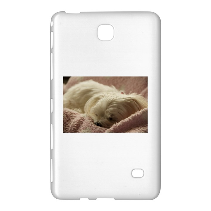 Maltese Sleeping Samsung Galaxy Tab 4 (8 ) Hardshell Case