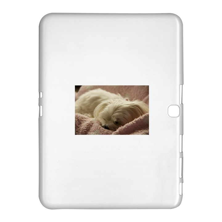 Maltese Sleeping Samsung Galaxy Tab 4 (10.1 ) Hardshell Case