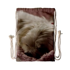 Maltese Sleeping Drawstring Bag (Small)
