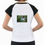 Blue Merle Miniature American Shepherd Love W Pic Women s Cap Sleeve T Back