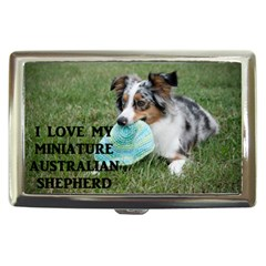 Blue Merle Miniature American Shepherd Love W Pic Cigarette Money Cases