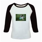 Blue Merle Miniature American Shepherd Love W Pic Kids Baseball Jerseys Front