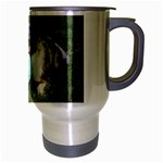 Blue Merle Miniature American Shepherd Love W Pic Travel Mug (Silver Gray) Right