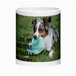 Blue Merle Miniature American Shepherd Love W Pic Morph Mugs Center