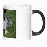 Blue Merle Miniature American Shepherd Love W Pic Morph Mugs Right