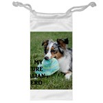 Blue Merle Miniature American Shepherd Love W Pic Jewelry Bags Front