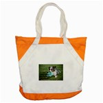 Blue Merle Miniature American Shepherd Love W Pic Accent Tote Bag Front
