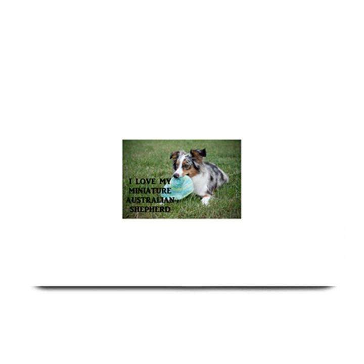 Blue Merle Miniature American Shepherd Love W Pic Plate Mats