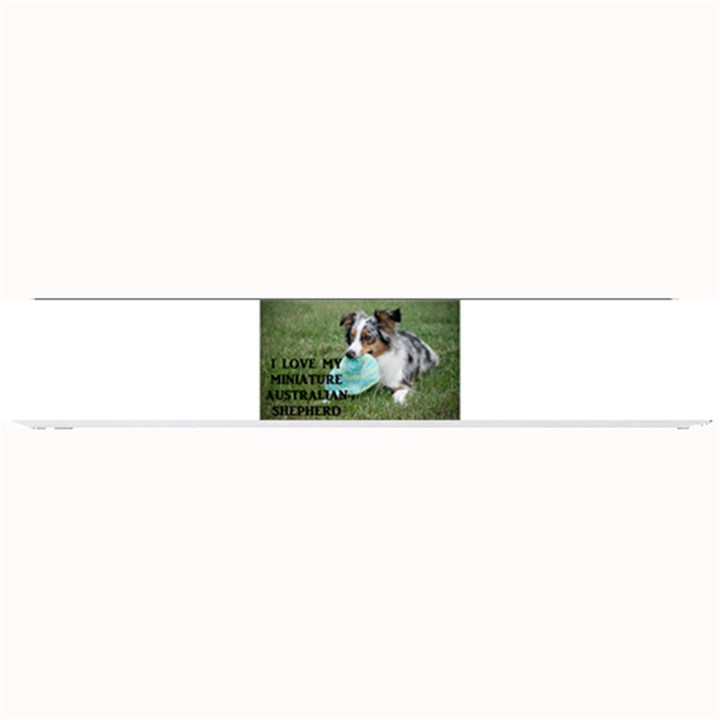 Blue Merle Miniature American Shepherd Love W Pic Small Bar Mats