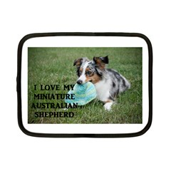 Blue Merle Miniature American Shepherd Love W Pic Netbook Case (Small)