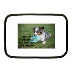 Blue Merle Miniature American Shepherd Love W Pic Netbook Case (Medium)