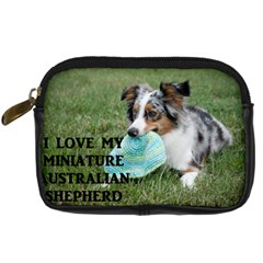 Blue Merle Miniature American Shepherd Love W Pic Digital Camera Cases