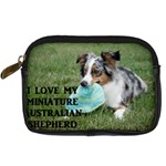 Blue Merle Miniature American Shepherd Love W Pic Digital Camera Cases Front