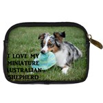 Blue Merle Miniature American Shepherd Love W Pic Digital Camera Cases Back