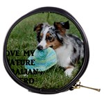 Blue Merle Miniature American Shepherd Love W Pic Mini Makeup Bags Front
