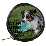 Blue Merle Miniature American Shepherd Love W Pic Mini Makeup Bags Back