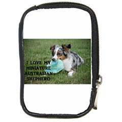 Blue Merle Miniature American Shepherd Love W Pic Compact Camera Cases