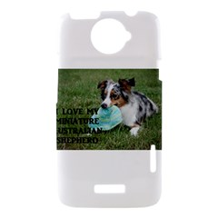 Blue Merle Miniature American Shepherd Love W Pic HTC One X Hardshell Case