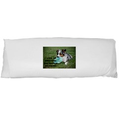Blue Merle Miniature American Shepherd Love W Pic Body Pillow Case (Dakimakura)