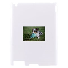 Blue Merle Miniature American Shepherd Love W Pic Apple iPad 2 Hardshell Case
