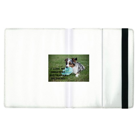Blue Merle Miniature American Shepherd Love W Pic Apple iPad 3/4 Flip Case