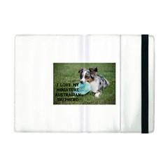 Blue Merle Miniature American Shepherd Love W Pic Apple iPad Mini Flip Case
