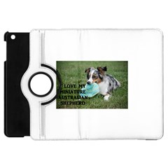 Blue Merle Miniature American Shepherd Love W Pic Apple iPad Mini Flip 360 Case