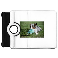 Blue Merle Miniature American Shepherd Love W Pic Kindle Fire HD Flip 360 Case
