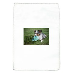 Blue Merle Miniature American Shepherd Love W Pic Flap Covers (L)
