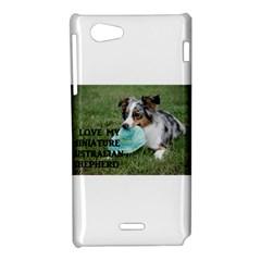 Blue Merle Miniature American Shepherd Love W Pic Sony Xperia J
