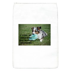Blue Merle Miniature American Shepherd Love W Pic Flap Covers (S)
