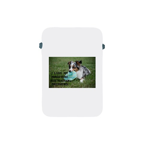 Blue Merle Miniature American Shepherd Love W Pic Apple iPad Mini Protective Soft Cases