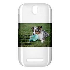 Blue Merle Miniature American Shepherd Love W Pic HTC One SV Hardshell Case